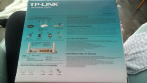 TP Link DSL modem and router TD-W8951ND Like new condition