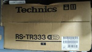 Technics RS-TR333K & Service Manual AD9201005C0