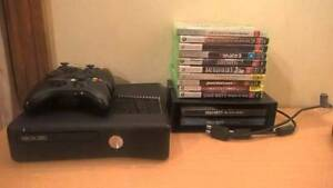 Xbox 360 with 2 games and controllers bundle. Tea Tree Gully Tea Tree Gully Area Preview