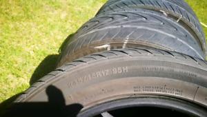 Summer Tires Kumho 245/45r17
