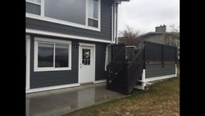 One bedroom basement suite in Coldstream August 1st