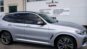 Xpel window tint, Ceramic pro, 3M paint protection films and Det