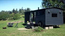 Stylish Bespoke Carriage Style Caravan