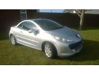 2009 Peugeot 207 CC 1.6 16v 120 Coupe GT convertible 2 former keepers 76K 120bhp