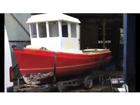 19ft grp fishing boat project