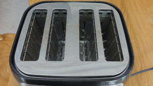 Grille pain stainless 4 tranches
