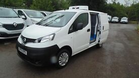 Nissan NV200 1.5DCi Acenta Refrigerated Van with GAH Fridge Unit