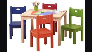 WANTED-children's table and chairs.