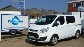 Ford Transit Custom 2.0TDCi 130PS Double Cab-in-Van 290 L1H1 With Polyshield