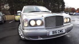 Bentley Arnage 6.8 auto R 15,250 Mls Full Bentley History Glasgow Scotland