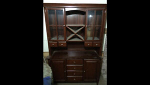 Palliser buffet and hutch