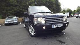 Land Rover Range Rover 3.0 TD 6 auto 2003 SE Glasgow Scotland
