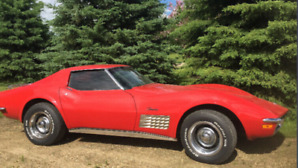 1972 Corvette Stingray T Tops Leather 350Eng 400Auto Tranny Nice