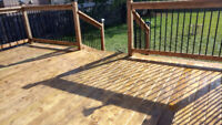 Fence and deck new or repairs please call on 6477954494 thanks