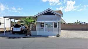 SPEND WINTER IN SUNNY YUMA, AZ Move in Ready Park Model LQ#11