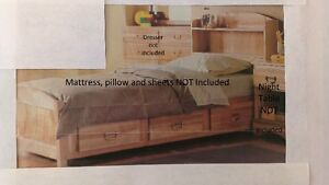 Sears - Roncho twin bed with built-in drawers(3)