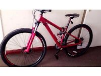 29er carrera sulcata limited edition mountain bike good as NEW