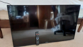 46 inch samsung old type smart no stand only on wall