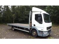 2012 Euro 5 DAF TRUCKS LF45.160 7.5 Tonne Flatbed Day Cab