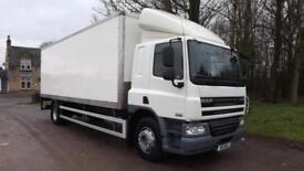 2011 DAF CF65.220 Euro 5, 220hp,Sleeper Cab, Manual 18 Tonne Box Truck
