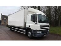 2011 DAF CF65.220 Euro 5, 220hp,Sleeper Cab, Manual 18 Tonne Box Truck