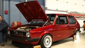 1983 Volkswagen Rabbit GTI fully restored 2.0 16 Valve Turbo