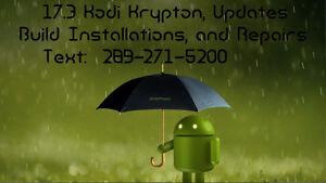 Android Box Repairs and 17.4 build installations TWENTY DOLLARS