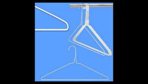 5 Pieces of clothes hangers for $1