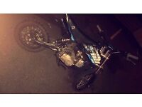 Stomp wpb 125cc pitbike