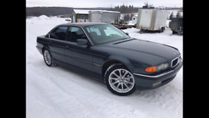 bmw 740 i E38 from 2000