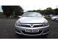 Vauxhall Astra 2.0i 16v Star Silver 2007 Model Twin Top Design Glasgow Scotland