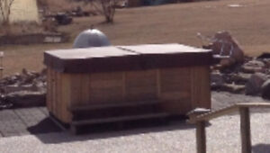 Hot tub (Sunray Canadian)