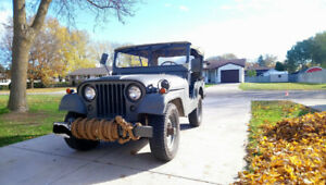 1971 WILLY'S MILITARY JEEP M38A1-CDN3
