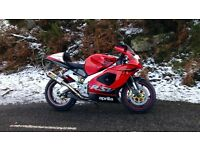 RSV Mille with upgrades swap for R1 or GSXR