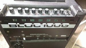 Vintage Traynor Bloc 100G Guitar Combo Amp