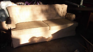 Love Seat and Matching Chair