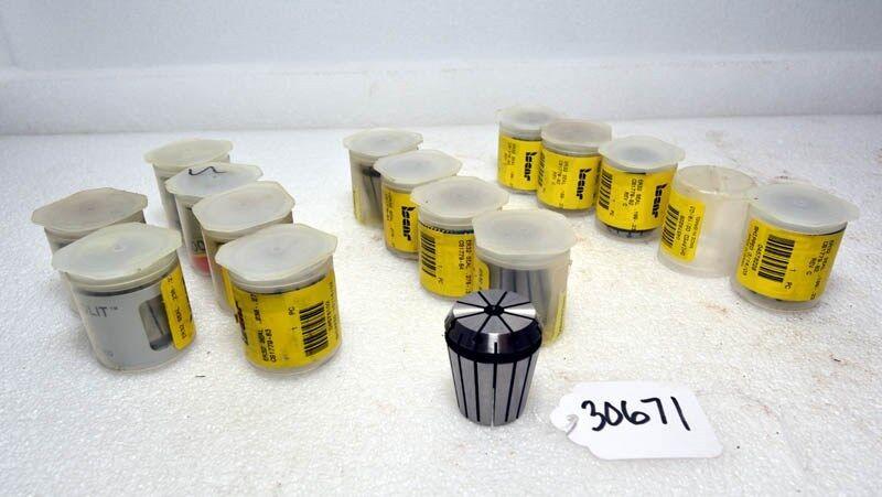 Lot of Iscar ER32 Collets (Inv.30671)