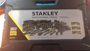 Stanley 122pc Socket set