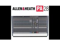 LOW PRICE - Allen & Heath PA28 mixing console