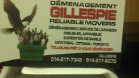 Gillespie Reliable Movers