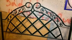Queen Metal Bed Canopy and Frame For Sale, Very Good Condition