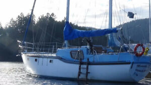 36ft sailboat (cutter), Roberts design