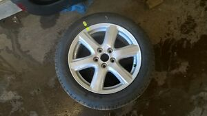2009 Camry alloy wheel with tire