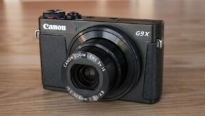 Canon G9X Compact Camera - LIKE NEW CONDITION