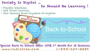 Winters Best Offers, Online English-Math-French Tuition At Home.