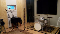 Hourly Rehearsal Space available at the Garage!