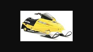 Wanted mini  z 120cc kids snowmobile / sled