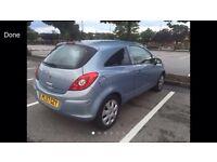 2008 57reg Vauxhall Corsa 1.2 Automatic 3 Door Blue Very rare