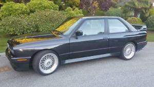 WANTED BMW M3 E30 1984-1992 ACHETEUR SÉRIEUX