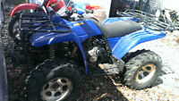 Yamaha Wolverine 350cc 4x4 direct drive in excellent condition